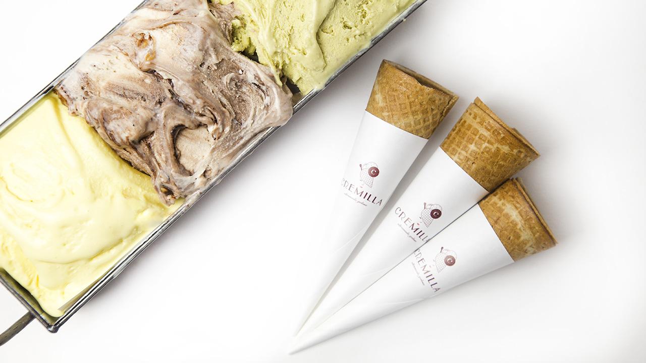 Cremilla – Inaugura la gelateria con pasticceria Oltremodo golosa
