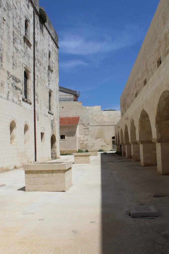 Castello di Carlo V. Foto dell'autrice
