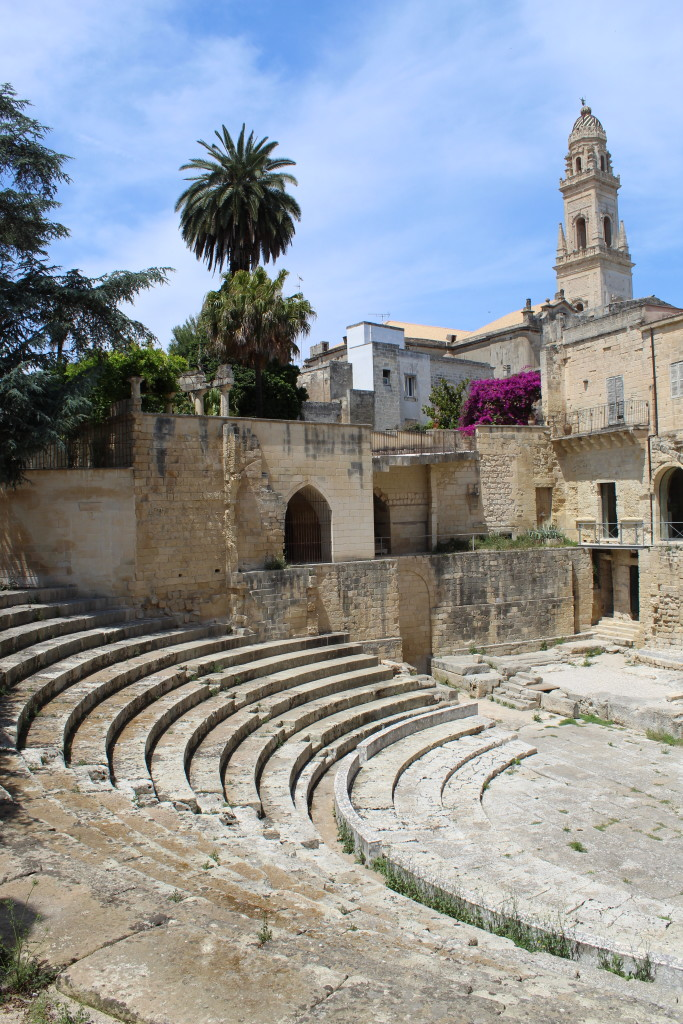 Teatro romano di Lecce. Foto dell'autrice