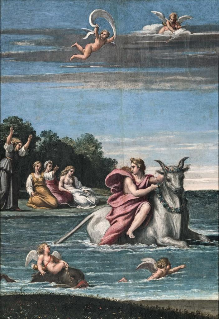 Il ratto di Europa - Annibale Carracci | Ovidio. Amori, miti e altre storie
