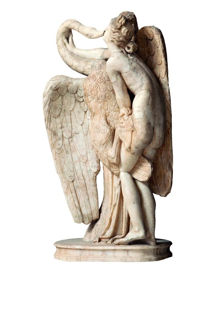 Leda e il Cigno - Artista sconosciuto | Ovidio. Amori, miti e altre storie
