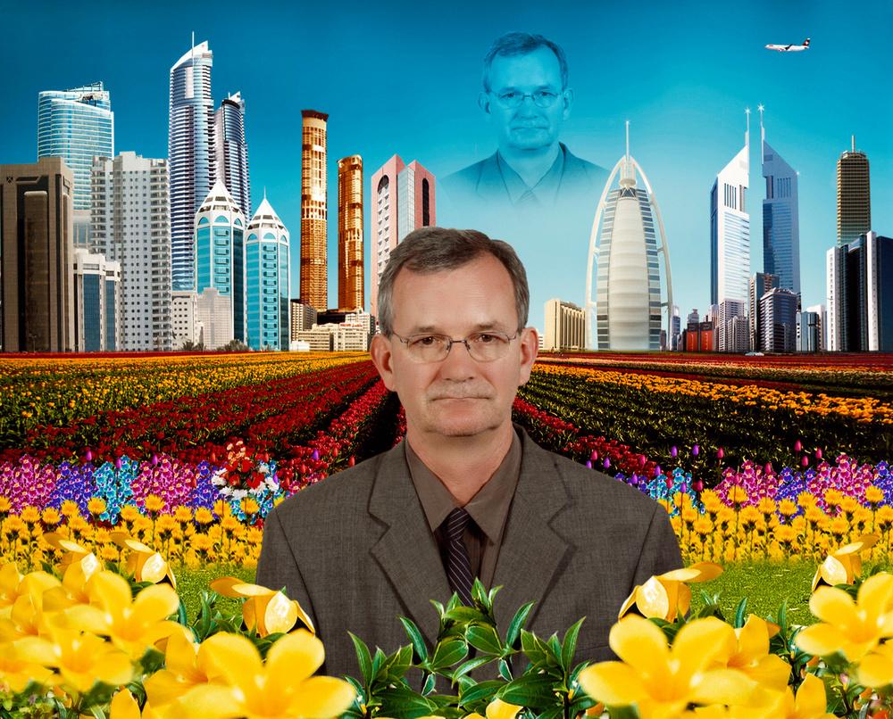 Martin Parr, autoritratto