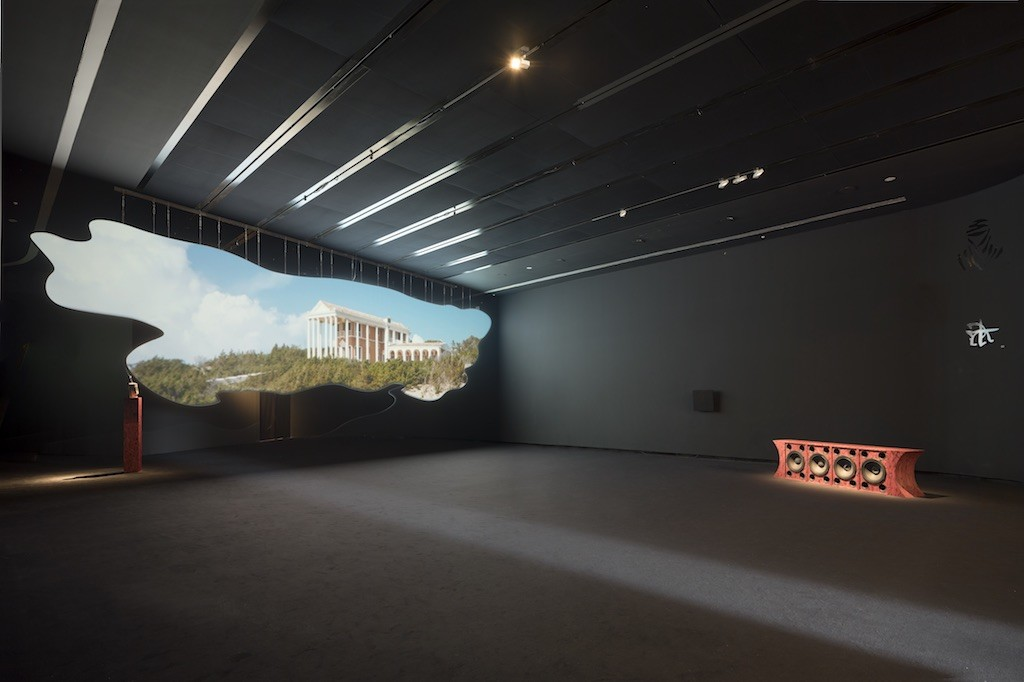 Invernomuto, Calendoola SURUS, 2018, installation view at MAXXI BVLGARI Prize, courtesy of the artists and Pinksummer Genova, Ph. Giulio Boem
