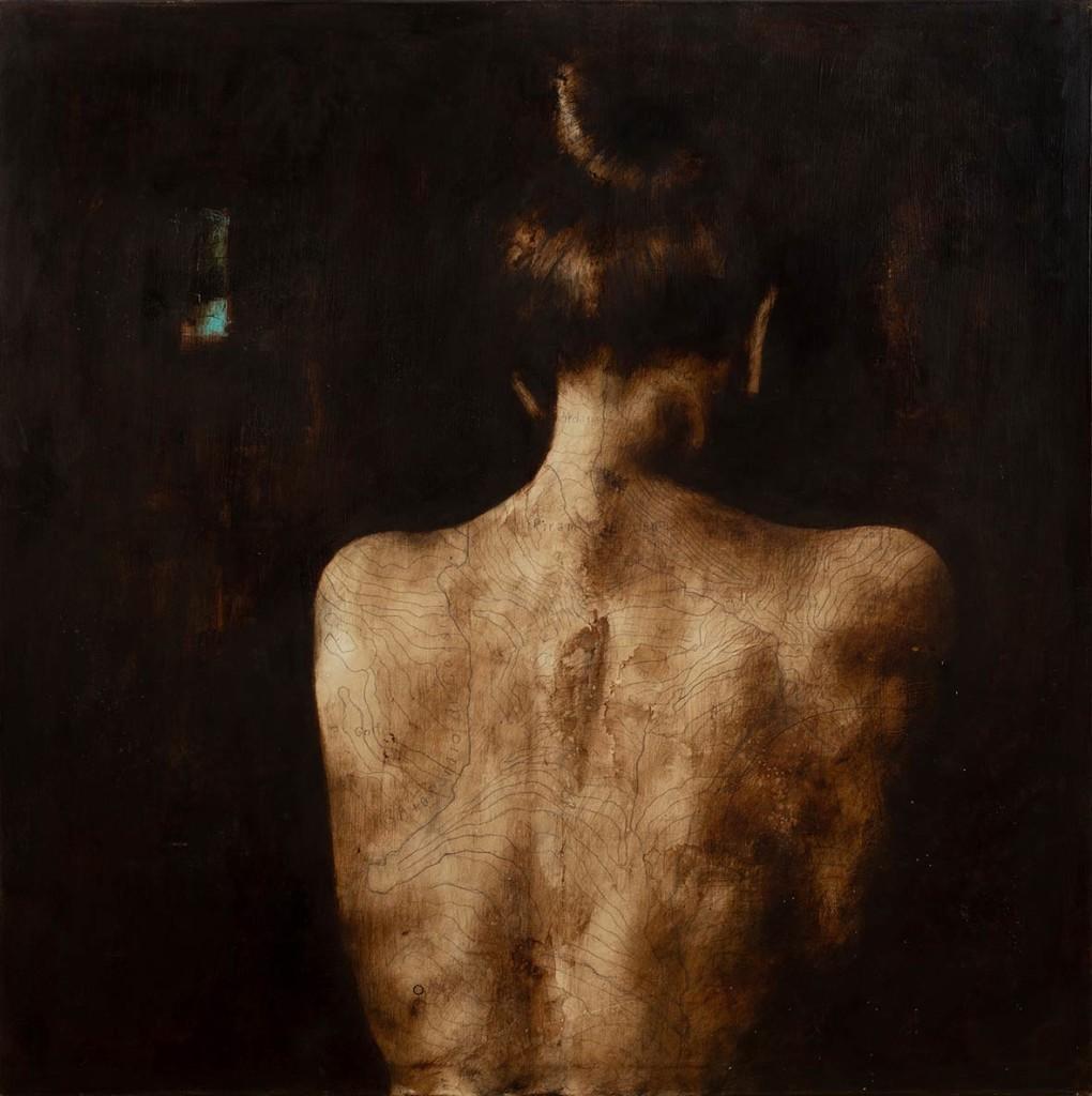 RvB-Arts_Fabio-Imperiale_Sogni-che-diventano-passi_tecnica-mista-su-tela_-100x100-cm_light-1