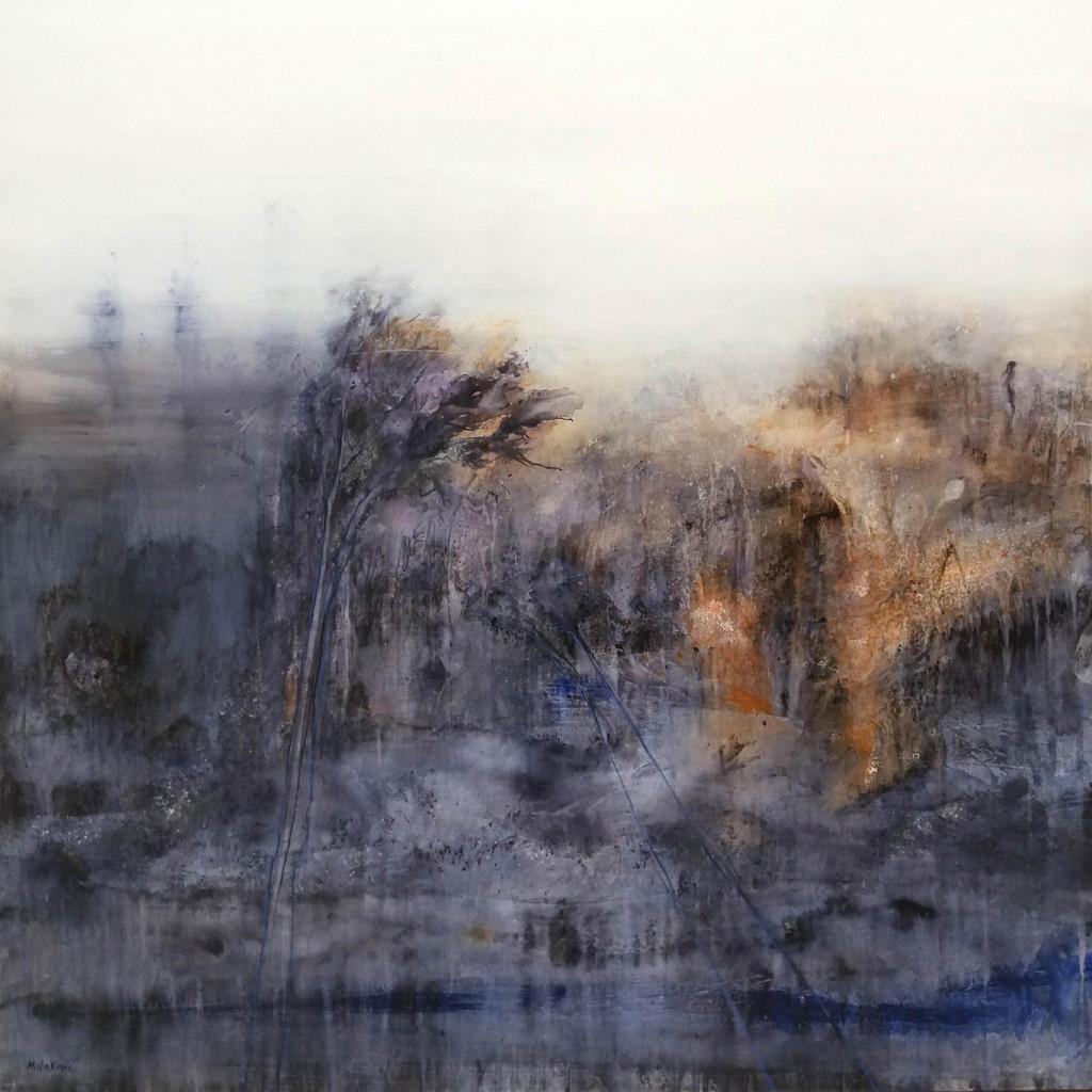 RvB-Arts_Kristina-Milakovic_Magia_tecnica-mista-su-tela_100x100-cm_2018_light