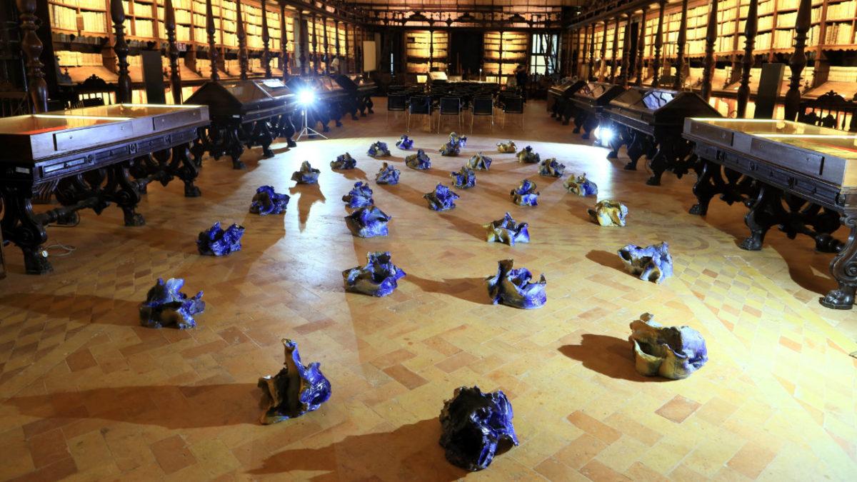 Pagina barocca – Germinazione di ceramiche nel Salone del Borromini
