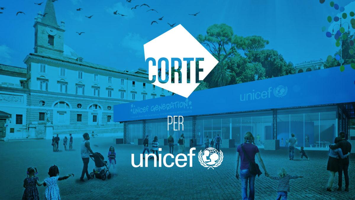 Unicef Generation – il padiglione firmato CORTE