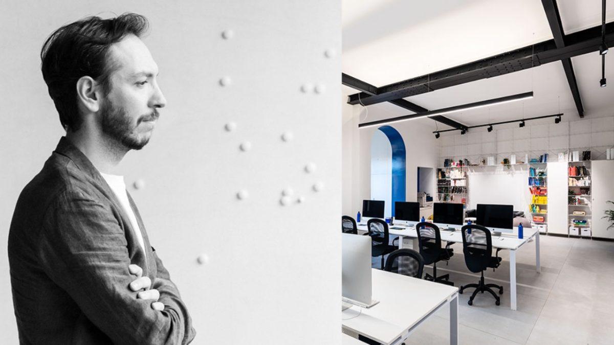Cappelli Identity Design fa volare a Roma Lorenzo Fanton, designer di Pentagram New York