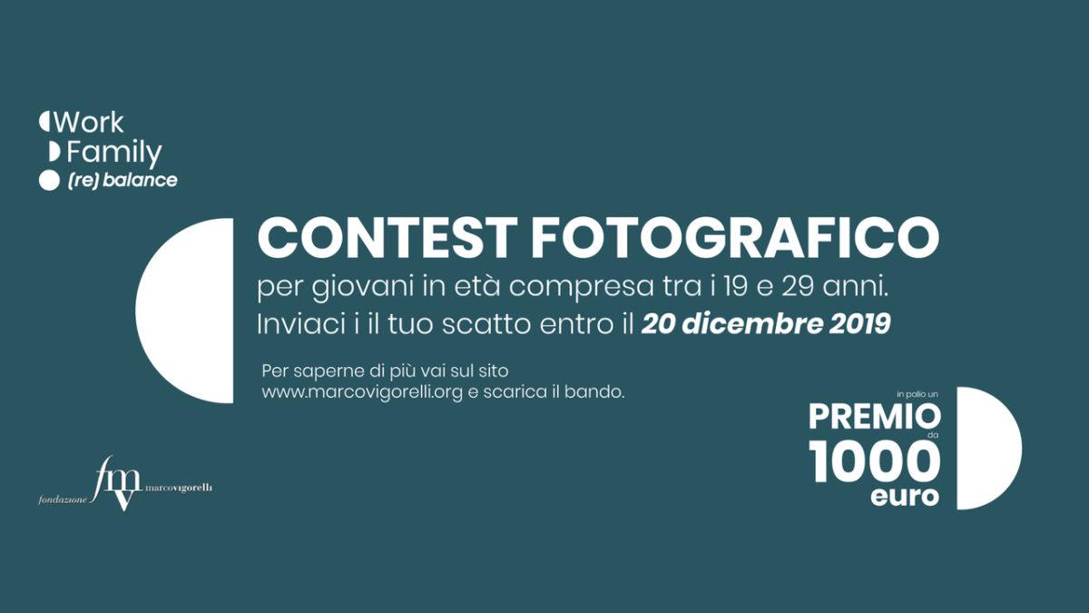 Work-Family (re)balance: il contest per giovani fotografi