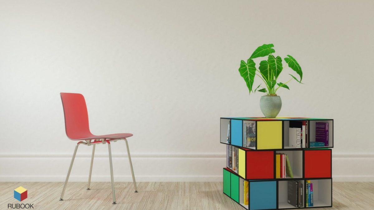 Rubook – Il celebre cubo diventa una libreria