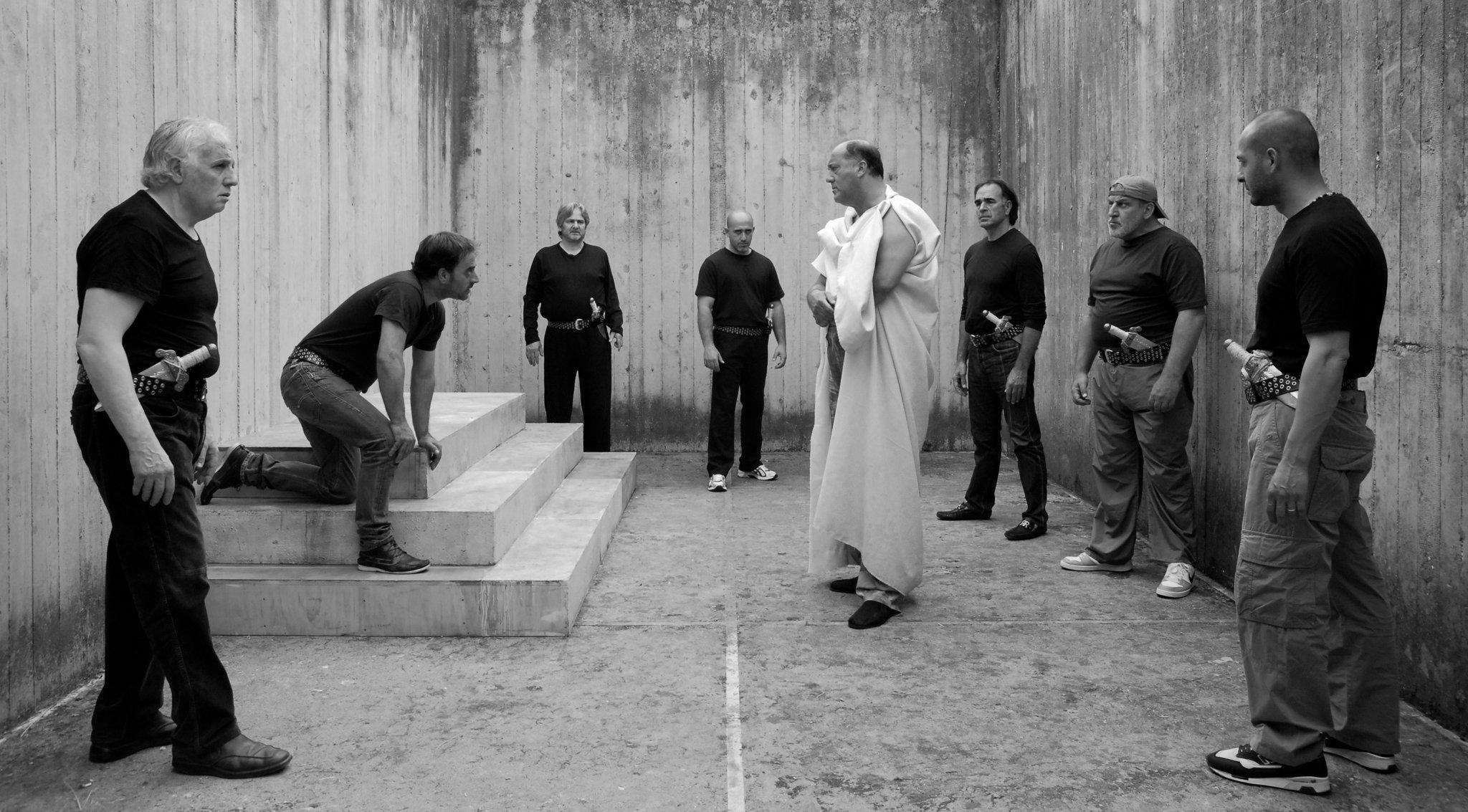 I guardatori di soffitto, carcerati attraverso Shakespeare