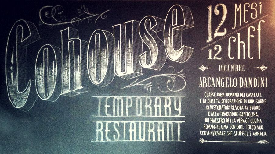 COHOUSE temporary restaurant