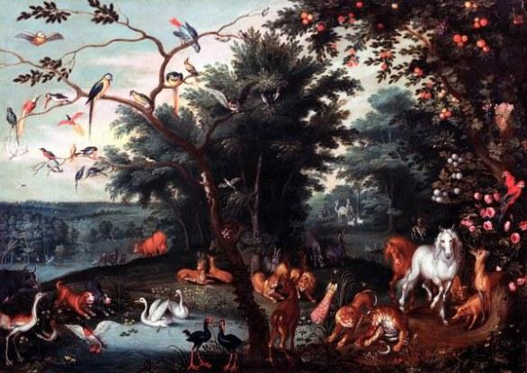 "Jan Brueghel il Giovane – ""Paradiso terrestre"""