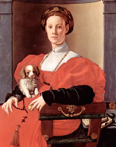 """Pontormo – """"Ritratto di dama con cagnolino"""""""