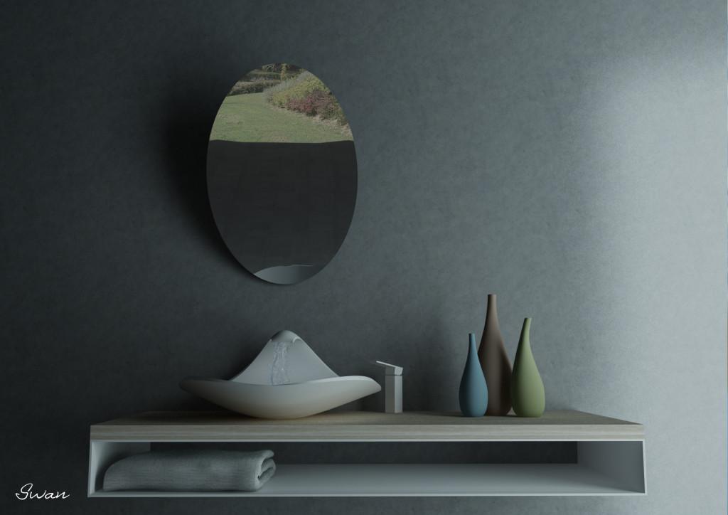 swan per concorso cristal plant