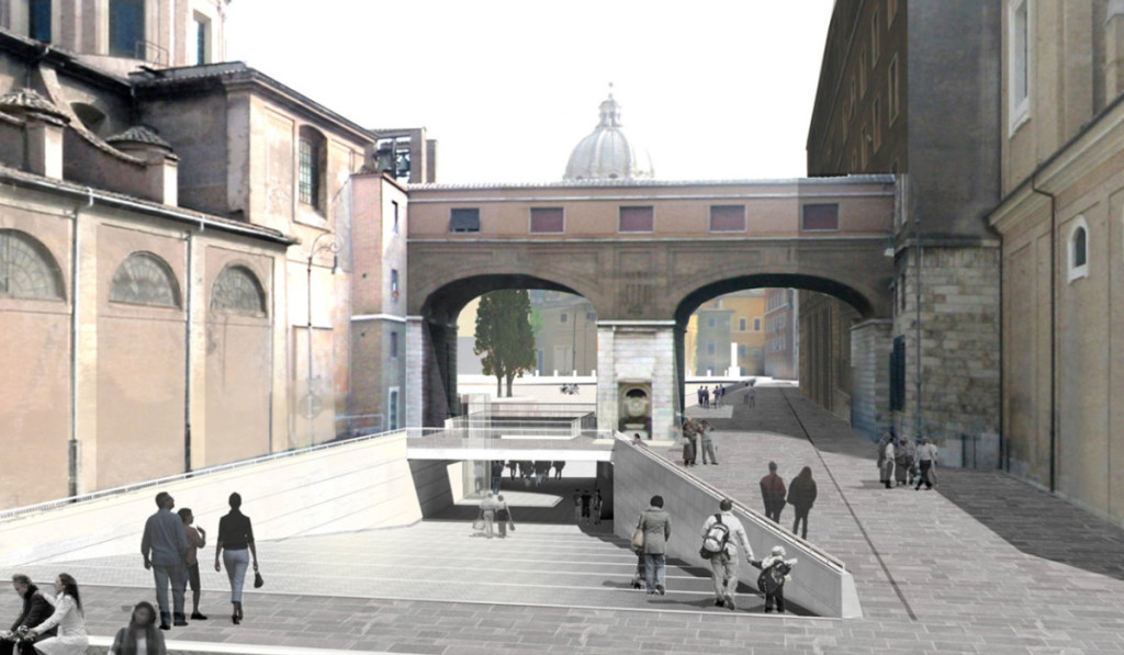 Piazza Augusto Imperatore, Francesco Cellini