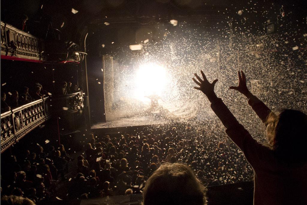 Pubblico del Slava's Snow Show Andrea Messana