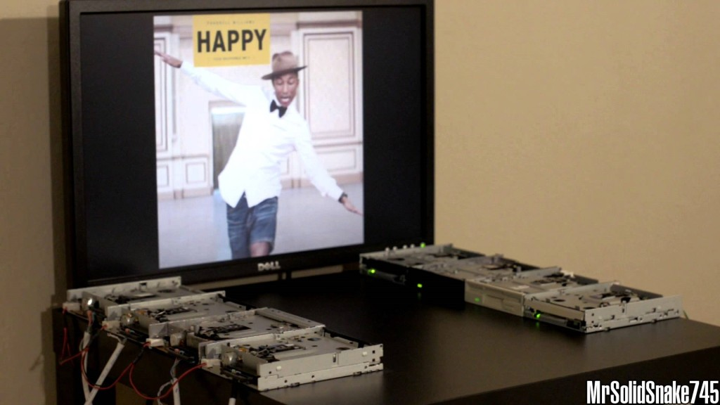 Happy in versione floppy drive