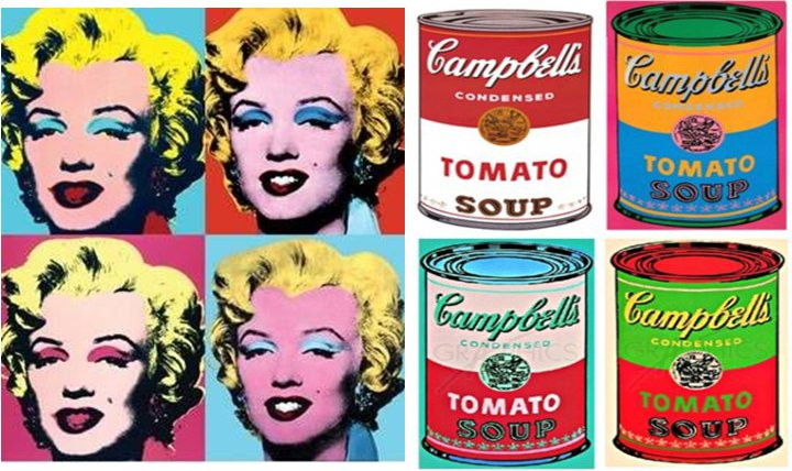 Campbell's Soup Cans 1962, Marilyn  1967