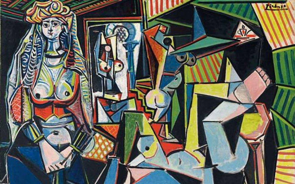 """""""Le donne di Algeri"""" – Pablo Picasso"""