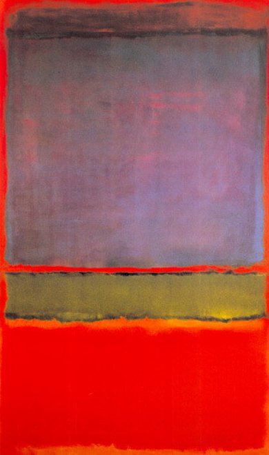 """""""No. 6 (Violet, Green and Red)"""" – Mark Rothko"""