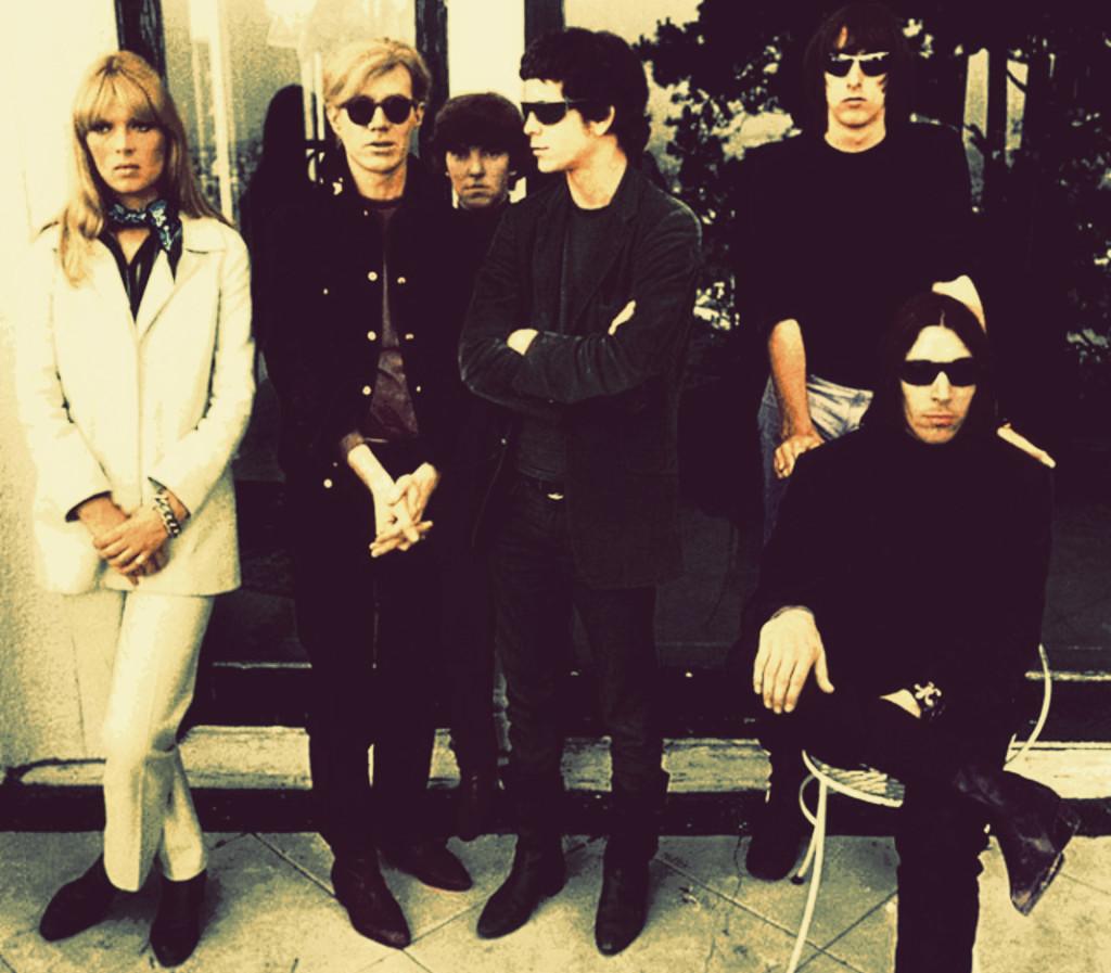 I VU con Andy Warhol e Nico