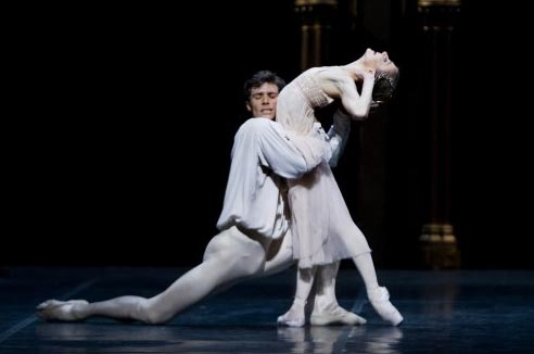 Roberto Bolle as Romeo in