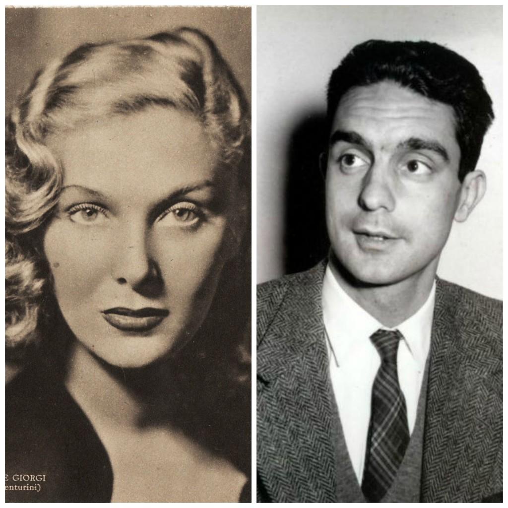 Elsa de' Giorgi e Italo Calvino