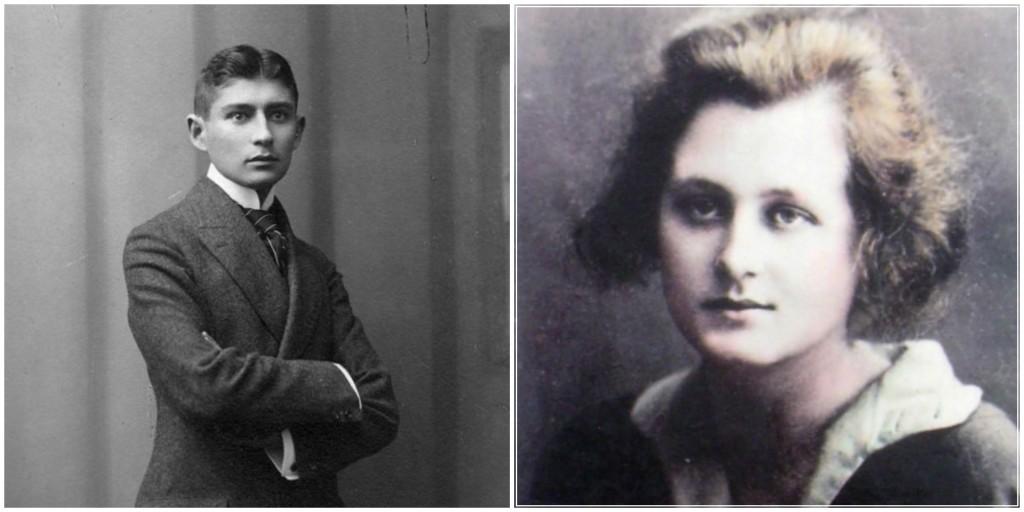 Franz Kafka e Milena Jesenská