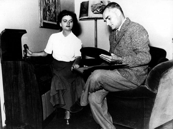 Alberto Moravia e Elsa Morante