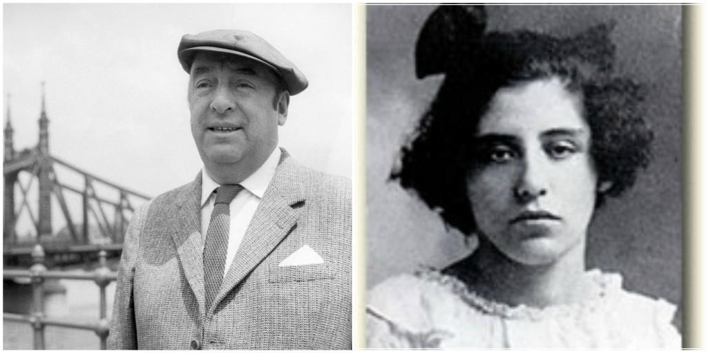Pablo Neruda e Albertina Rosa Azòcar Soto