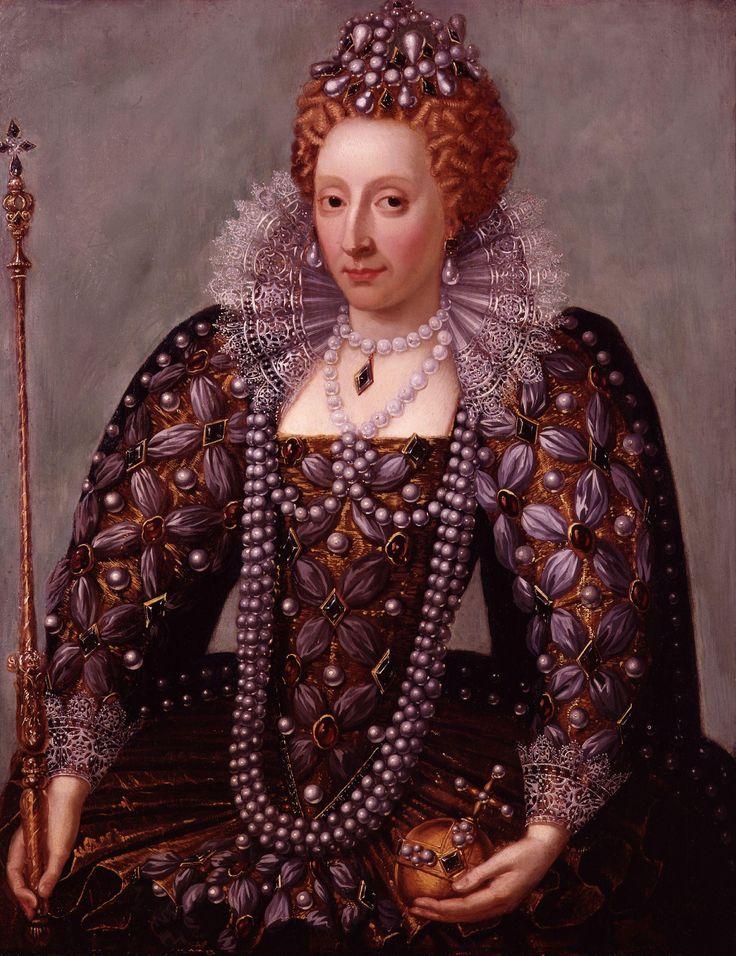 Elisabetta I d'Inghilterra che indossa la collana di perle da 3000 sterline