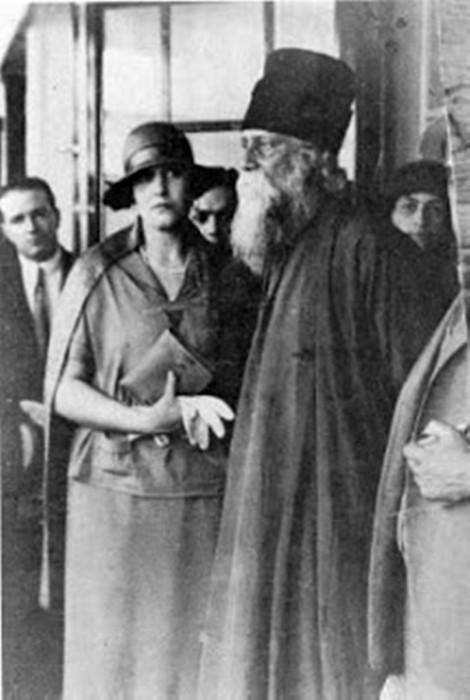 Rabindranath Tagore e Victoria Ocampo