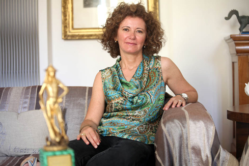 Raffaella Giovannetti. Foto di Giuseppe Di Caro