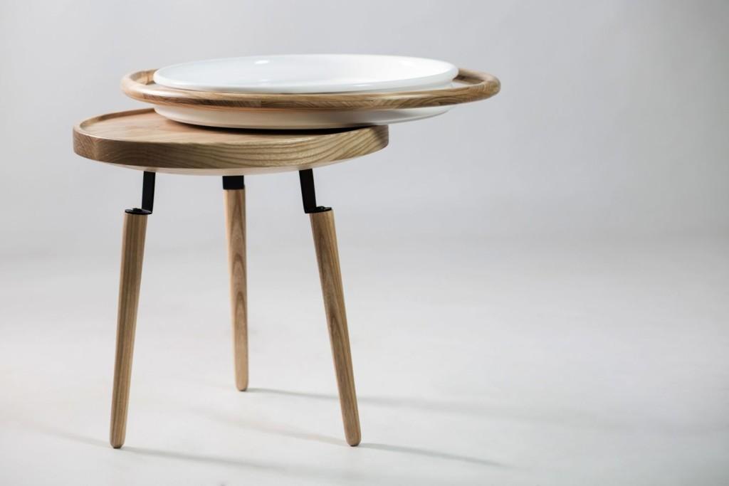 Conca, Unostudio, Tavolino ispirato alla conca (braciere) siciliana