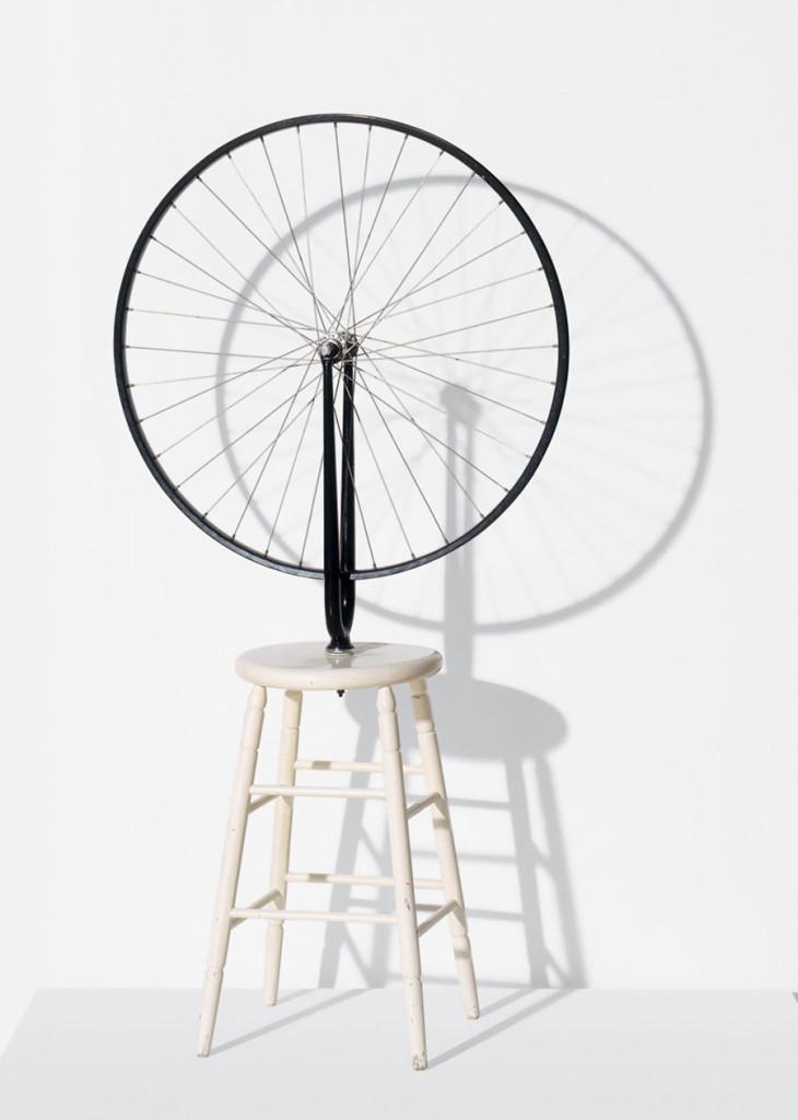 M.Duchamp, Bicycle Wheel, 1913