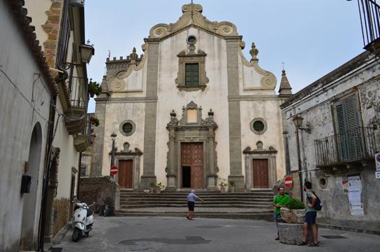Forza d'Agrò, Chiesa della S.S. Annunziata.