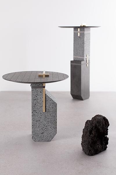 collezione de natura fossilium - smal pillar, big pillar