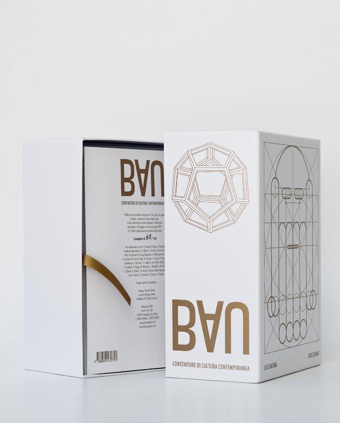Immagine grafica per la scatola di cultura contemporanea Bau12 e per la omonima mostra d'arte