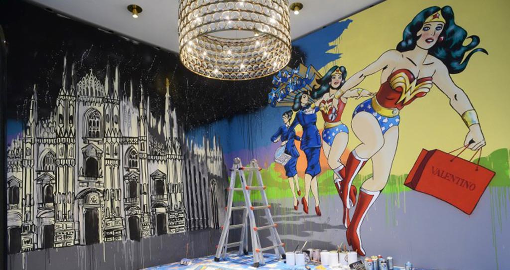 Solo x Wonder Woman Valentino