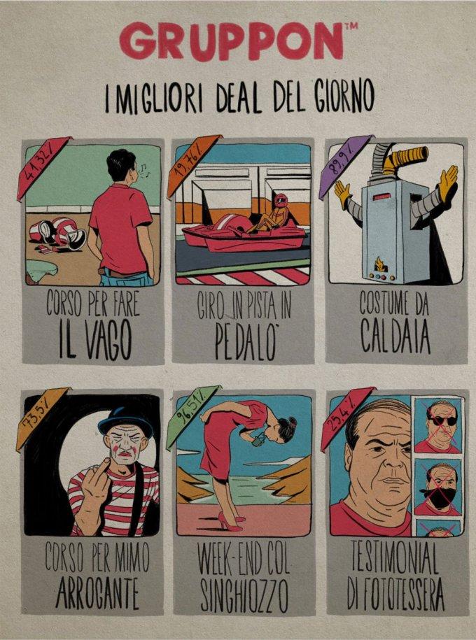 Illustrazione di Andrea Bozzo i gruppon