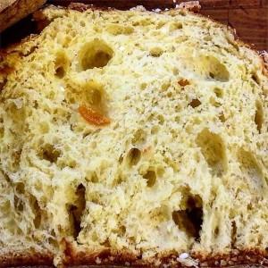 Pane e Tempesta - Panettone e Tempesta con mandarino candito, fava tonka e semi di sesamo