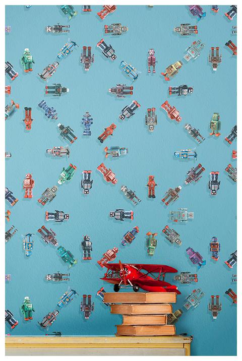 Robot by Vito Nesta, collezione Yarn