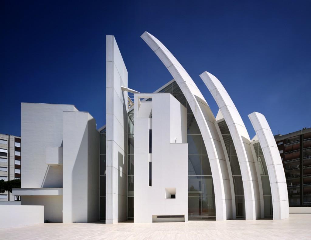 Chiesa di Dio Padre Misericordioso, Richard Meier