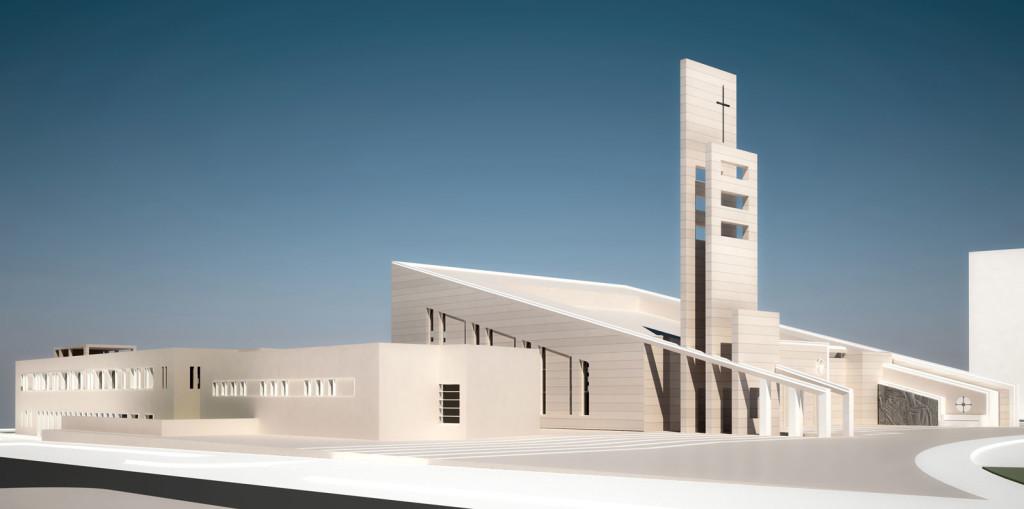 Complesso parrocchiale Beata Teresa di Calcutta, Marco Pertreschi