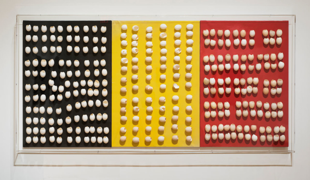 Marcel Broodthaers - Untitled (Triptych)