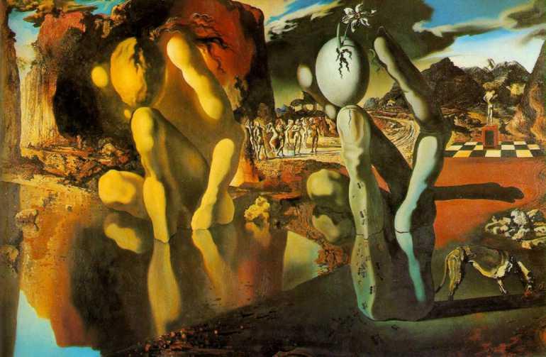 Salvador Dalì - La nascita di Narciso