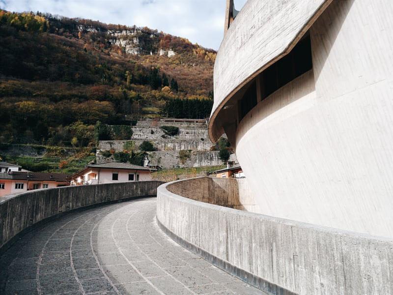 Santa Maria Immacolata, Giovanni Michelucci - Ph. Francesca Iovene