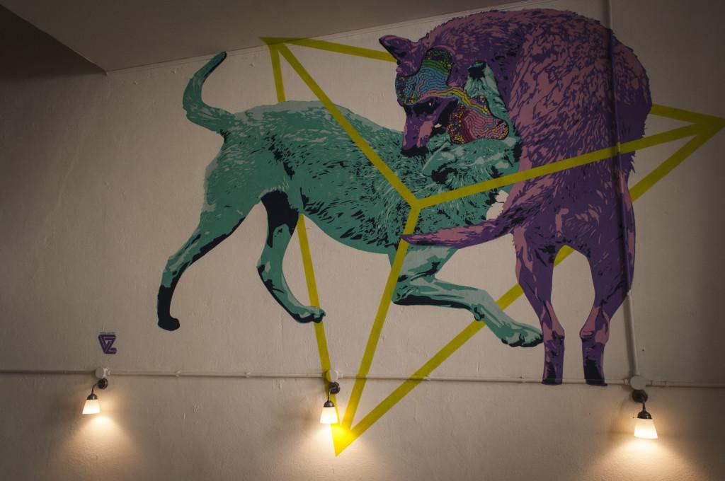 Artwork di Nabla&Zibe - Ph. Gegorio Paone