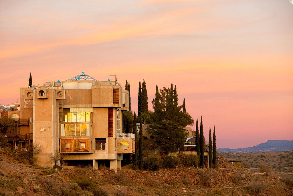 Arcosanti: l'esperimento di Paolo Soleri in Arizona